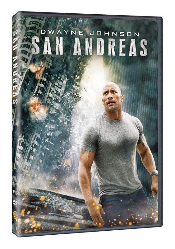San Andreas DVD plast