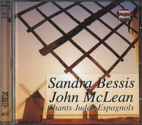 Sandra Bessis and John McLean - Chants Judéo Espagnols - CD