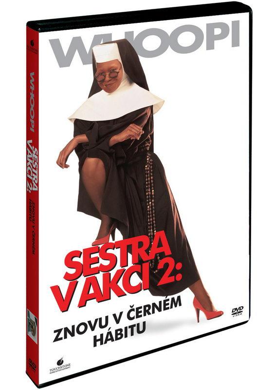 Sestra v akci 2. : Znovu v černém hábitu DVD plast