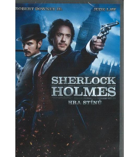 Sherlock Holmes: Hra stínů - DVD