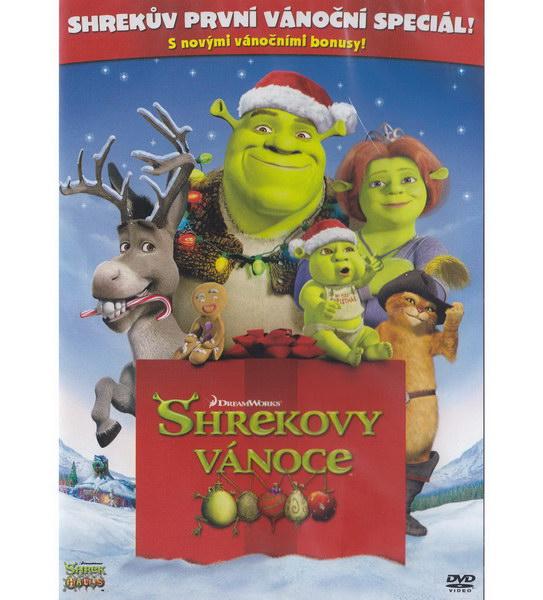 Shrekovy Vánoce - DVD plast