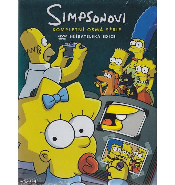 Simpsonovi - seriál - kompletní 08. série - DVD