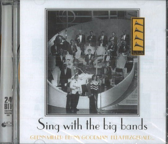 Sing with the big bands - CD