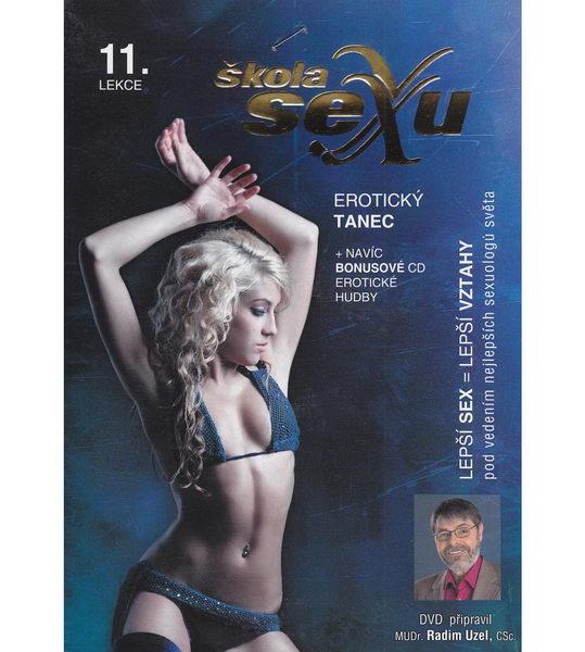 Škola sexu 11 - Erotický tanec - DVD