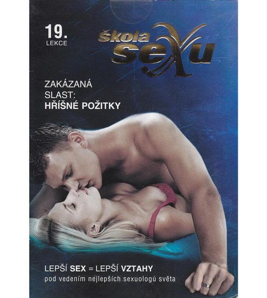 Škola sexu 19 - Zakázaná slast: Hříšné prožitky - DVD