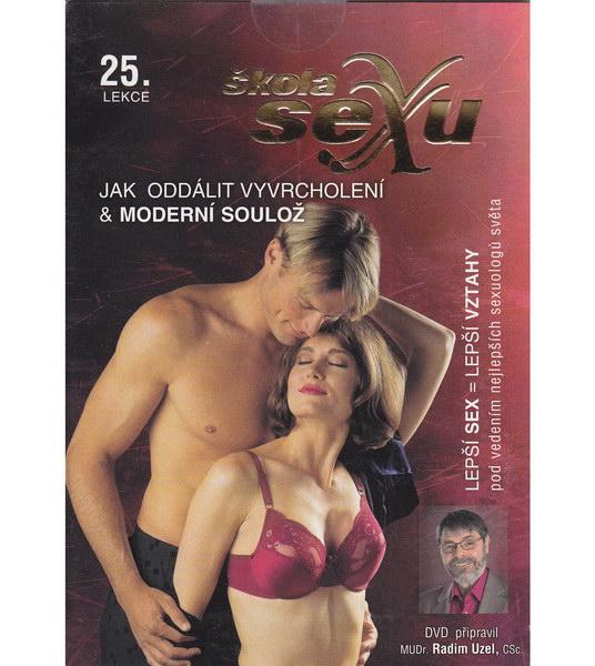 Škola sexu 25 - Jak oddálit vyvrcholení & Moderní soulož - DVD