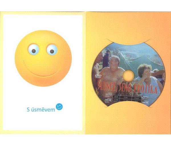 Slunce, seno, erotika v dárkovém balení Smajlík - DVD