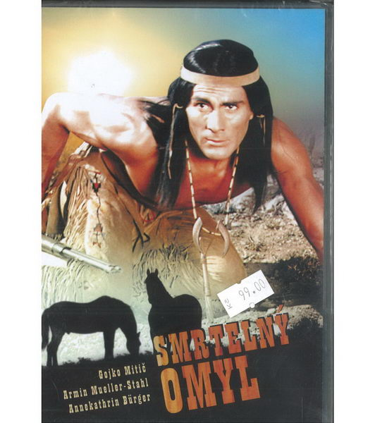 Smrtelný omyl ( Gojko Mitič ) - Plast DVD