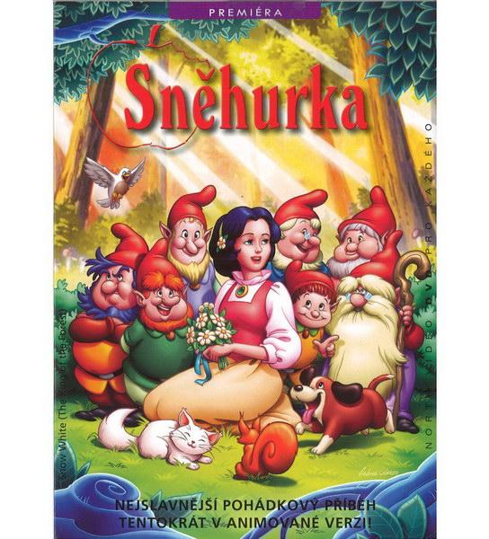 Sněhurka - animovaná - DVD