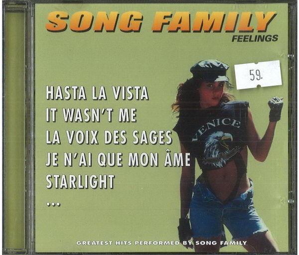 Song Family feelings - CD