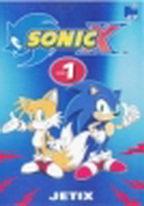Sonic X - disk 1 - DVD