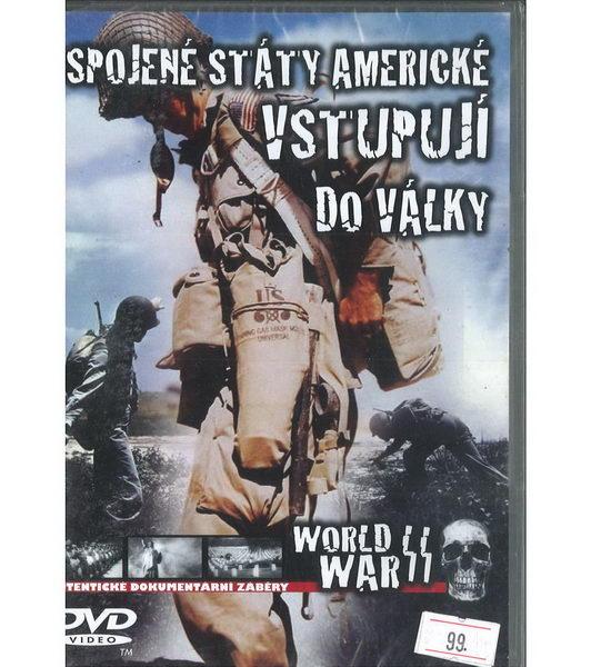 Spojené Státy Americké vstupují do války - DVD