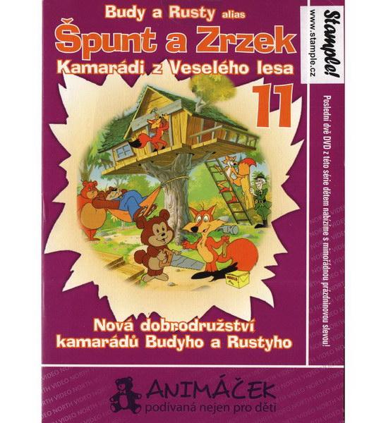 Špunt a Zrzek 11 - DVD
