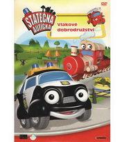 Statečná autíčka - Vlakové dobrodružství ) pošetka ) DVD