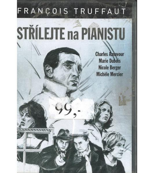 Střílejte na pianistu ( originální znění, titulky CZ ) plast DVD