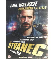 Štvanec (Paul Walker) - DVD