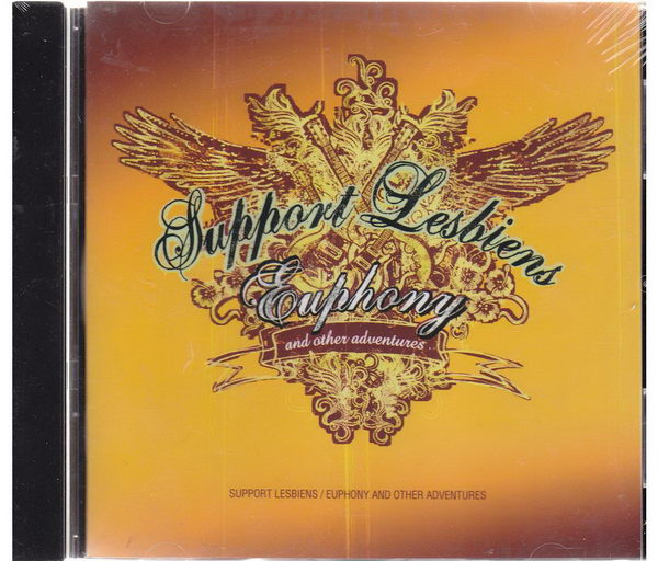 Support Lesbiens - Euphony and other adventures - CD