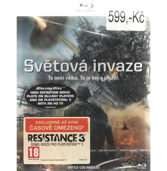 Světová invaze - BD