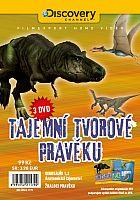Tajemní tvorové pravěku - 3x DVD - papírové pošetky