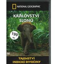 Tajemství indické divočiny: Království slonů - DVD