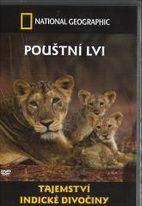 Tajemství indické divočiny - Pouštní lvi - National geographic - DVD