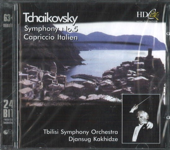 Tchaikovsky - Symphony no. 5 / Capriccio Italien - CD