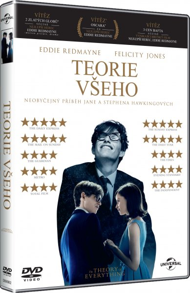 Teorie všeho - DVD plast