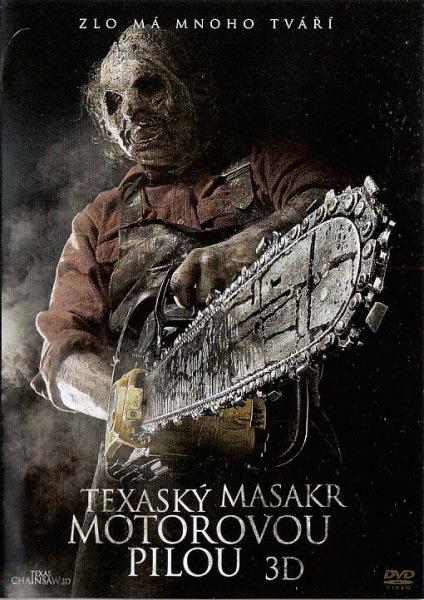 Texaský masakr motorovou pilou 3D ( bazarové zboží ) plast DVD
