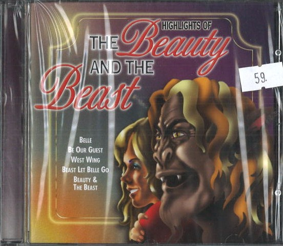 The Beauty and the Beast - CD