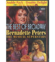 The Best of Broadway - Bernadette Peters: The Musical Superstars - DVD