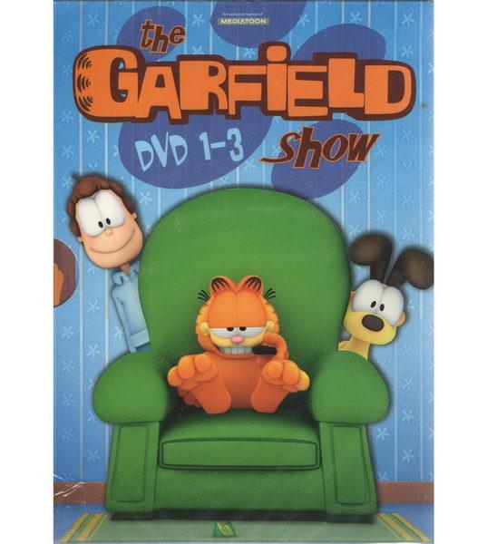 The Garfield show DVD 1 - 3