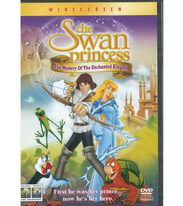 The Swan princess (Labutí princezna) - DVD
