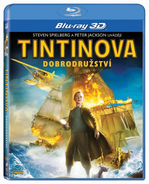 Tintinova dobrodružství 3D ( blu-ray )
