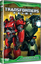 Transformers Prime 1. série 4. disk - DVD