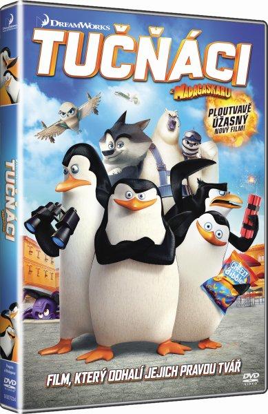 Tučňáci z Madagaskaru - DVD plast
