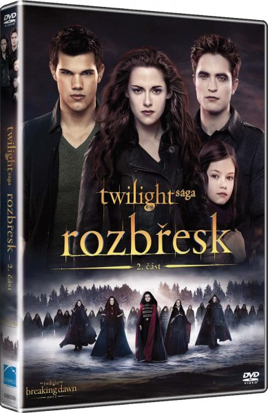 Twilight sága: Rozbřesk 2. část - DVD (Twilight Saga: Breaking Dawn - Part 2)