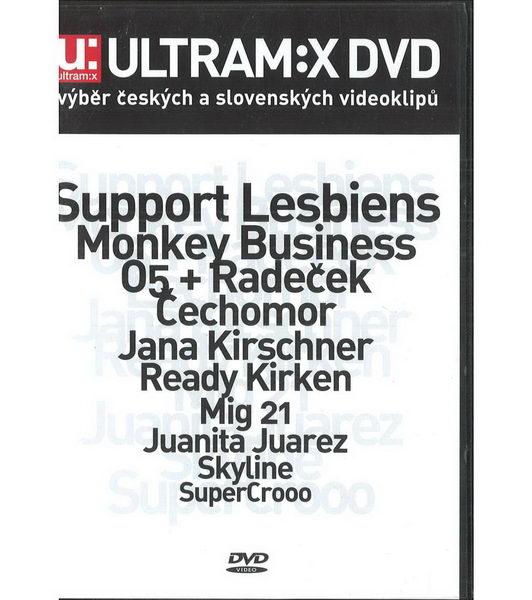 Ultram:x DVD - výběr českých a slovenských videoklipů