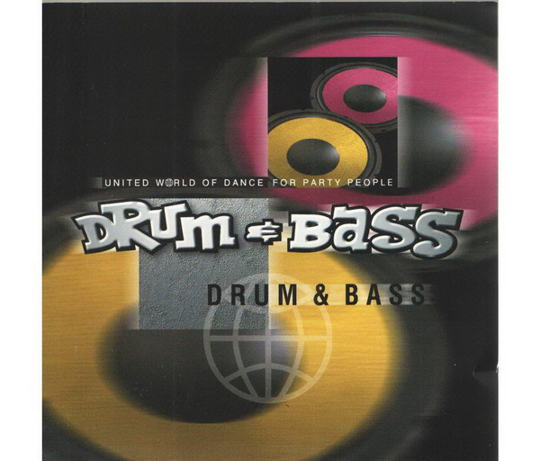 United World of Dance for Party People - DRUM & BASS - CD