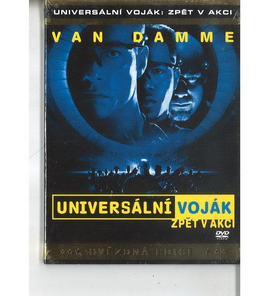 Universální voják: zpět v akci - DVD