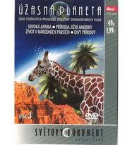 Úžasná planeta disk 3 - Divoká Afrika - DVD