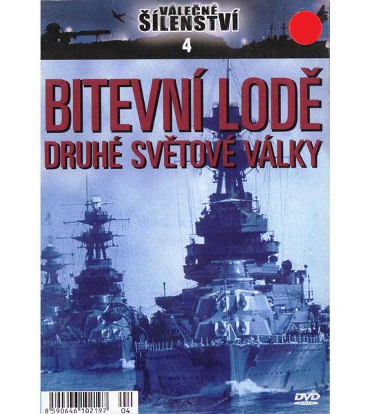 Válečné šílenství 4 - Bitevní lodě druhé světové války - DVD