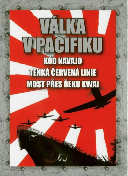 Válka v Pacifiku - 3 DVD Kód Navajo, Most přes řeku Kwai, Tenká červená linie