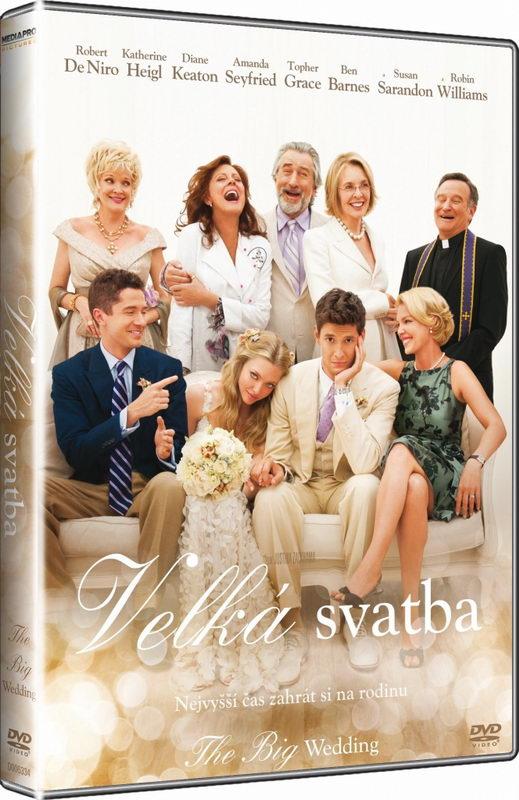 Velká svatba /plast/- DVD