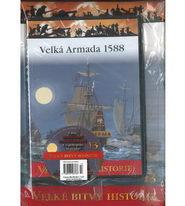 Velké bitvy historie 13 - Velká Armada 1588 ( časopis + DVD )