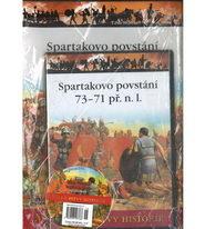 Velké bitvy historie 18 - Spartakovo povstání 73 - 71 př. n. l. ( časopis + DVD )