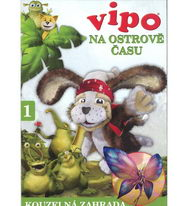 Vipo - Na ostrově času 1 - Kouzelná zahrada - DVD