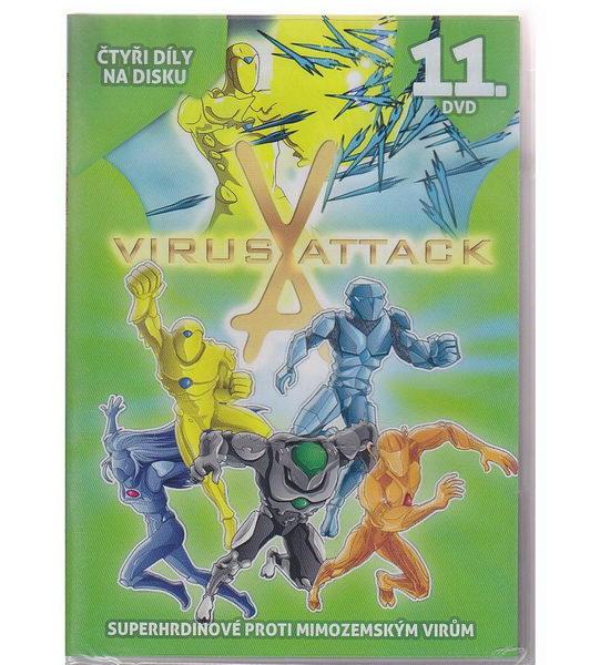 Virus Attack 11. DVD