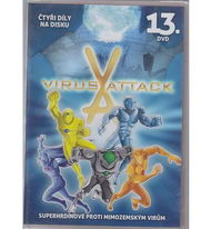 Virus Attack 13. DVD