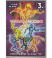 Virus Attack 3. DVD