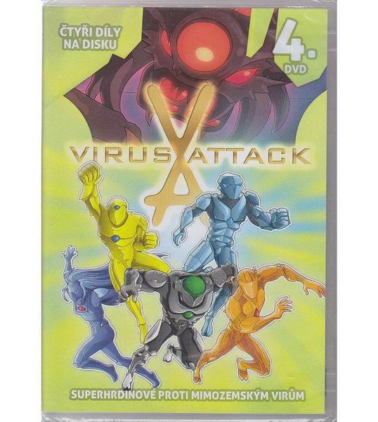 Virus Attack 4. DVD